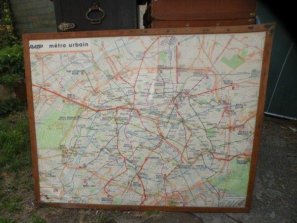 plan de métro paris