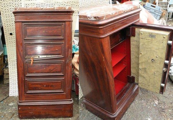 coffre fort verstaen paris faux meuble. Black Bedroom Furniture Sets. Home Design Ideas