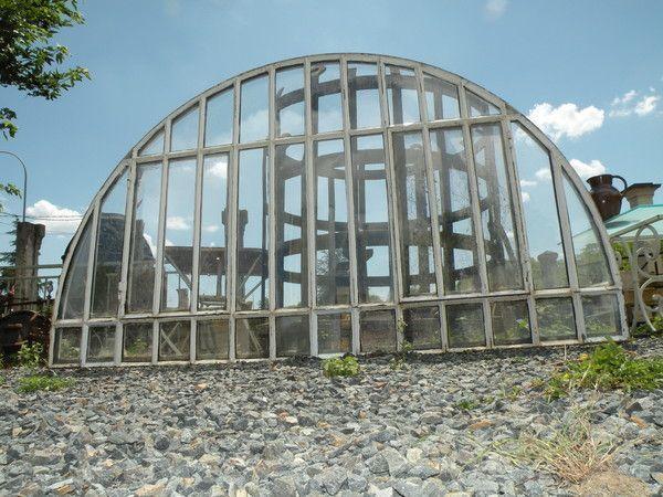 Fenetre verriere arrondi industriel m tal loft m tier design for Fenetre loft industriel